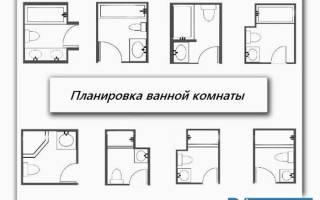 Сколько квадратов ванная комната в хрущёвке?
