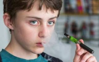 Электронные сигареты, можно ли парить, если возраст до 18 лет? законом запрещено?)