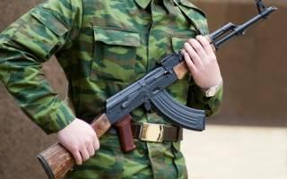 С дальтонизмом в армию