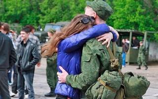 Отпуск солдатам-срочникам
